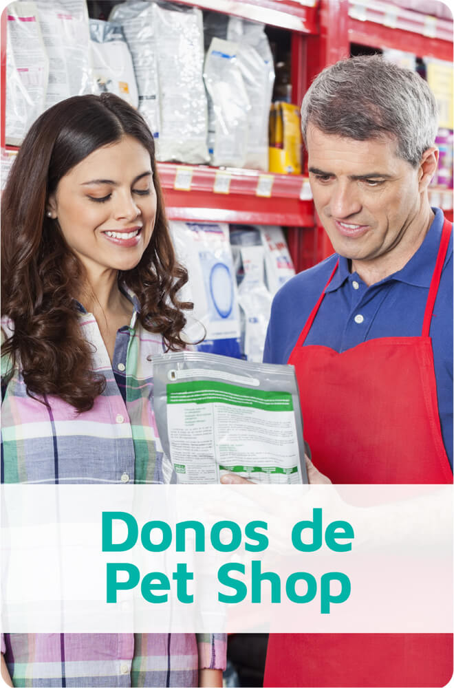 Donos de Pet Shop